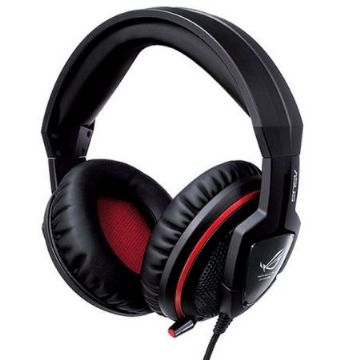 Asus Orion Gaming Headset, In-line Controls, Full Size Over Ear Cushions